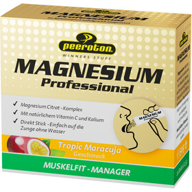 Peeroton Magnesium Professional Sticks Boks 20 x 2,5 g, Tropic Maracuja